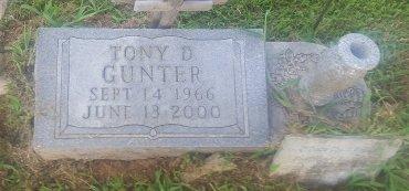 GUNTER, TONY D - Union County, Kentucky   TONY D GUNTER - Kentucky Gravestone Photos