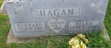 HAGAN, BERNARD - Union County, Kentucky | BERNARD HAGAN - Kentucky Gravestone Photos