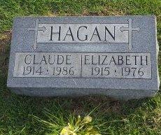 HAGAN, ELIZABETH - Union County, Kentucky | ELIZABETH HAGAN - Kentucky Gravestone Photos