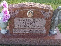 HAGAN, FRANCES A - Union County, Kentucky   FRANCES A HAGAN - Kentucky Gravestone Photos