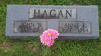 HAGAN, ANNIE E - Union County, Kentucky   ANNIE E HAGAN - Kentucky Gravestone Photos
