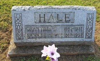 HALE, NANNIE - Union County, Kentucky | NANNIE HALE - Kentucky Gravestone Photos