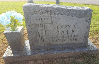 HALE, HENRY L - Union County, Kentucky | HENRY L HALE - Kentucky Gravestone Photos