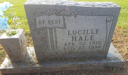 HALE, LUCILLE - Union County, Kentucky | LUCILLE HALE - Kentucky Gravestone Photos