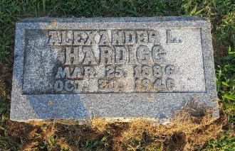 HARDIGG, ALEXANDER L - Union County, Kentucky | ALEXANDER L HARDIGG - Kentucky Gravestone Photos