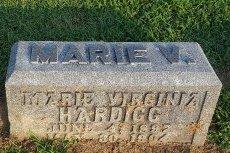 HARDIGG, MARIE VIRGINIA - Union County, Kentucky | MARIE VIRGINIA HARDIGG - Kentucky Gravestone Photos
