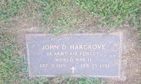 HARGROVE (VETERAN WW2), JOHN D - Union County, Kentucky | JOHN D HARGROVE (VETERAN WW2) - Kentucky Gravestone Photos
