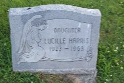 HARRIS, LUCILLE - Union County, Kentucky | LUCILLE HARRIS - Kentucky Gravestone Photos