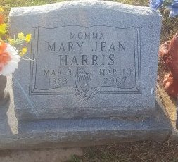 HARRIS, MARY JEAN - Union County, Kentucky | MARY JEAN HARRIS - Kentucky Gravestone Photos