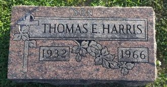 HARRIS, THOMAS E - Union County, Kentucky   THOMAS E HARRIS - Kentucky Gravestone Photos