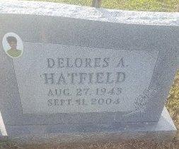 HATFIELD, DELORES A - Union County, Kentucky   DELORES A HATFIELD - Kentucky Gravestone Photos