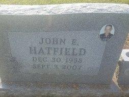 HATFIELD, JOHN E - Union County, Kentucky | JOHN E HATFIELD - Kentucky Gravestone Photos