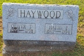 HAYWOOD, HATTIE P - Union County, Kentucky | HATTIE P HAYWOOD - Kentucky Gravestone Photos