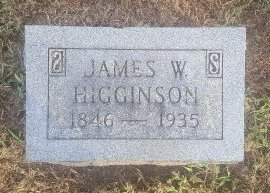 HIGGINSON, JAMES W - Union County, Kentucky | JAMES W HIGGINSON - Kentucky Gravestone Photos