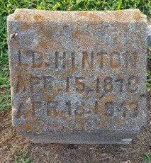 HINTON, LB - Union County, Kentucky | LB HINTON - Kentucky Gravestone Photos