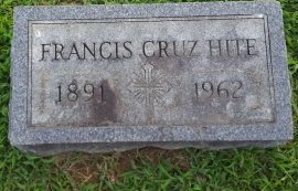 HITE, FRANCIS - Union County, Kentucky   FRANCIS HITE - Kentucky Gravestone Photos