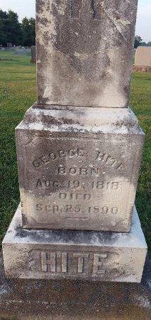 HITE, GEORGE - Union County, Kentucky | GEORGE HITE - Kentucky Gravestone Photos