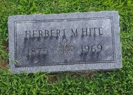 HITE, HERBERT M - Union County, Kentucky | HERBERT M HITE - Kentucky Gravestone Photos