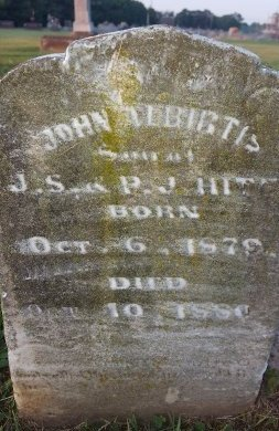 HITE, JOHN ALBIRTIS - Union County, Kentucky   JOHN ALBIRTIS HITE - Kentucky Gravestone Photos