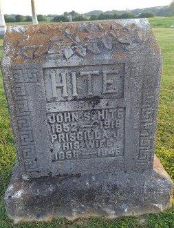 HITE, PRISCILLA - Union County, Kentucky | PRISCILLA HITE - Kentucky Gravestone Photos