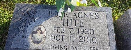 HITE, ROSE AGNES - Union County, Kentucky | ROSE AGNES HITE - Kentucky Gravestone Photos