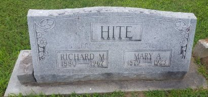 HITE, RICHARD M - Union County, Kentucky | RICHARD M HITE - Kentucky Gravestone Photos