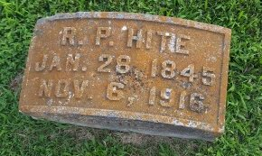 HITE, R.P - Union County, Kentucky | R.P HITE - Kentucky Gravestone Photos