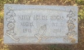HOGAN, NEELY LOUISE - Union County, Kentucky | NEELY LOUISE HOGAN - Kentucky Gravestone Photos
