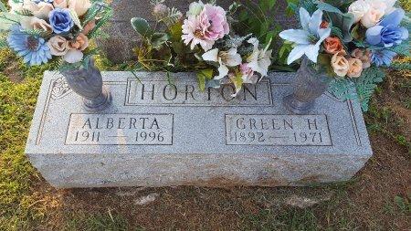 HORTON, GREEN H - Union County, Kentucky   GREEN H HORTON - Kentucky Gravestone Photos