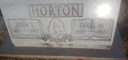 HORTON, JOHN T - Union County, Kentucky | JOHN T HORTON - Kentucky Gravestone Photos
