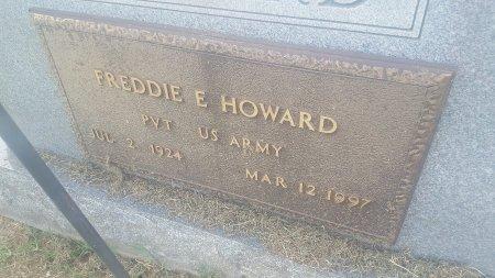 HOWARD (VETERAN), FREDDIE E - Union County, Kentucky   FREDDIE E HOWARD (VETERAN) - Kentucky Gravestone Photos