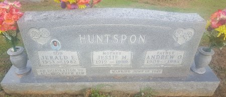 HUNTSPON, JESSIE M - Union County, Kentucky | JESSIE M HUNTSPON - Kentucky Gravestone Photos