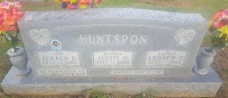 HUNTSPON, ANDREW O - Union County, Kentucky | ANDREW O HUNTSPON - Kentucky Gravestone Photos