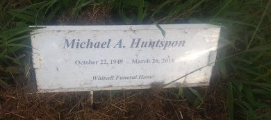 HUNTSPON, MICHAEL A - Union County, Kentucky | MICHAEL A HUNTSPON - Kentucky Gravestone Photos