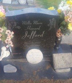 HOWARD JEFFORD, MILLIE MARIE - Union County, Kentucky | MILLIE MARIE HOWARD JEFFORD - Kentucky Gravestone Photos