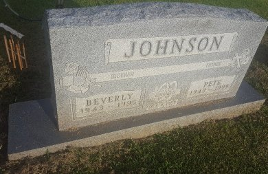 JOHNSON, BEVERLY - Union County, Kentucky | BEVERLY JOHNSON - Kentucky Gravestone Photos