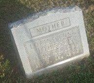 LONG JOHNSON, LORINE - Union County, Kentucky | LORINE LONG JOHNSON - Kentucky Gravestone Photos