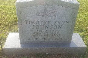 JOHNSON, TIMOTHY SHON - Union County, Kentucky | TIMOTHY SHON JOHNSON - Kentucky Gravestone Photos