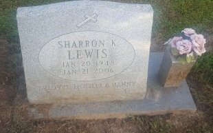LEWIS, SHARRON K - Union County, Kentucky | SHARRON K LEWIS - Kentucky Gravestone Photos