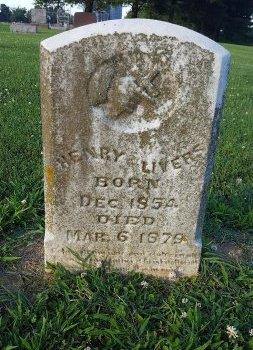 LIVERS, HENRY - Union County, Kentucky | HENRY LIVERS - Kentucky Gravestone Photos