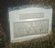 LONG, ALVA - Union County, Kentucky | ALVA LONG - Kentucky Gravestone Photos