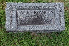MACKEY, LAURA FRANCES - Union County, Kentucky | LAURA FRANCES MACKEY - Kentucky Gravestone Photos