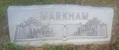 MARKHAM, FRANCES - Union County, Kentucky | FRANCES MARKHAM - Kentucky Gravestone Photos