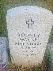 MARKHAM (VETERAN), RODNEY WAYNE - Union County, Kentucky   RODNEY WAYNE MARKHAM (VETERAN) - Kentucky Gravestone Photos