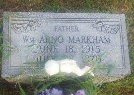MARKHAM, WILLIAM ARNO - Union County, Kentucky | WILLIAM ARNO MARKHAM - Kentucky Gravestone Photos