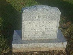 MART, BILLY TODD - Union County, Kentucky | BILLY TODD MART - Kentucky Gravestone Photos