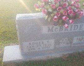 MCBRIDE, ROGER T - Union County, Kentucky | ROGER T MCBRIDE - Kentucky Gravestone Photos