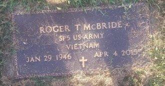 MCBRIDE (VETERAN VIETNAM), ROGER T - Union County, Kentucky | ROGER T MCBRIDE (VETERAN VIETNAM) - Kentucky Gravestone Photos
