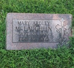 MCLAUGHLIN, MARY ARDLEY - Union County, Kentucky | MARY ARDLEY MCLAUGHLIN - Kentucky Gravestone Photos