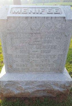 MENIFEE, JAMES U - Union County, Kentucky | JAMES U MENIFEE - Kentucky Gravestone Photos